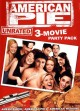 Go to record American pie unrated 3-movie party pack [videorecording]